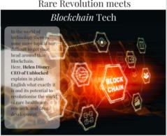 Rare Revolution meets Blockchain Tech