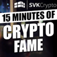 SVK Crypto podcast - 15 Minutes of Crypto Fame